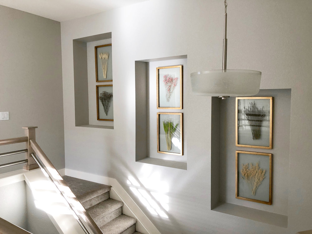 www.basilandtate.com | Green Mountain Project | Staircase | Hallway | Nooks | Townhome