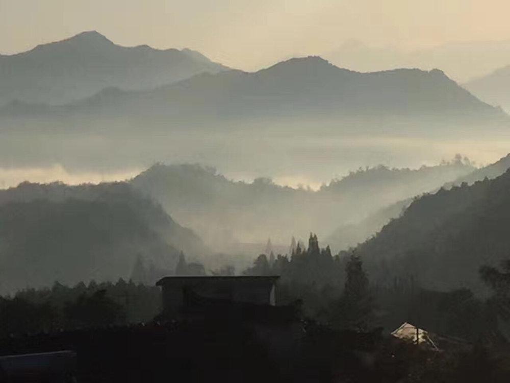 Huang Shan Yellow Mountain Anhui Province