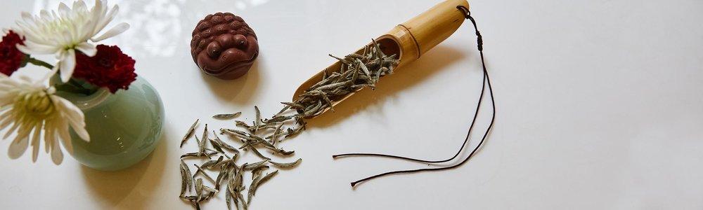 Bai Han Yin Zhen Silver Needle Loose Leaf Tea