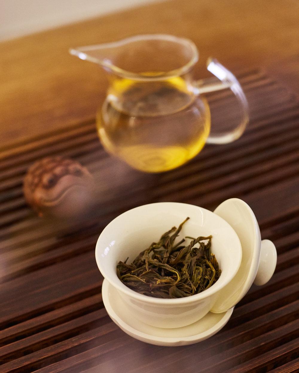 Brewing Dan Cong Tea
