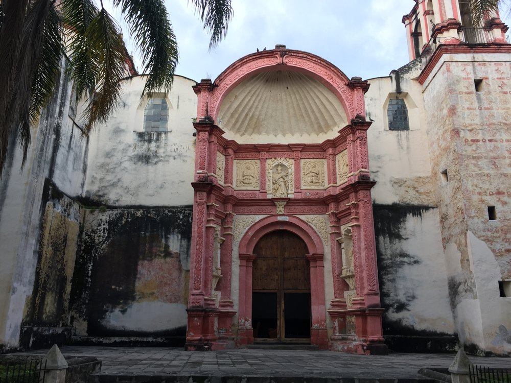 Cuernavaca Cathedral at the city center.