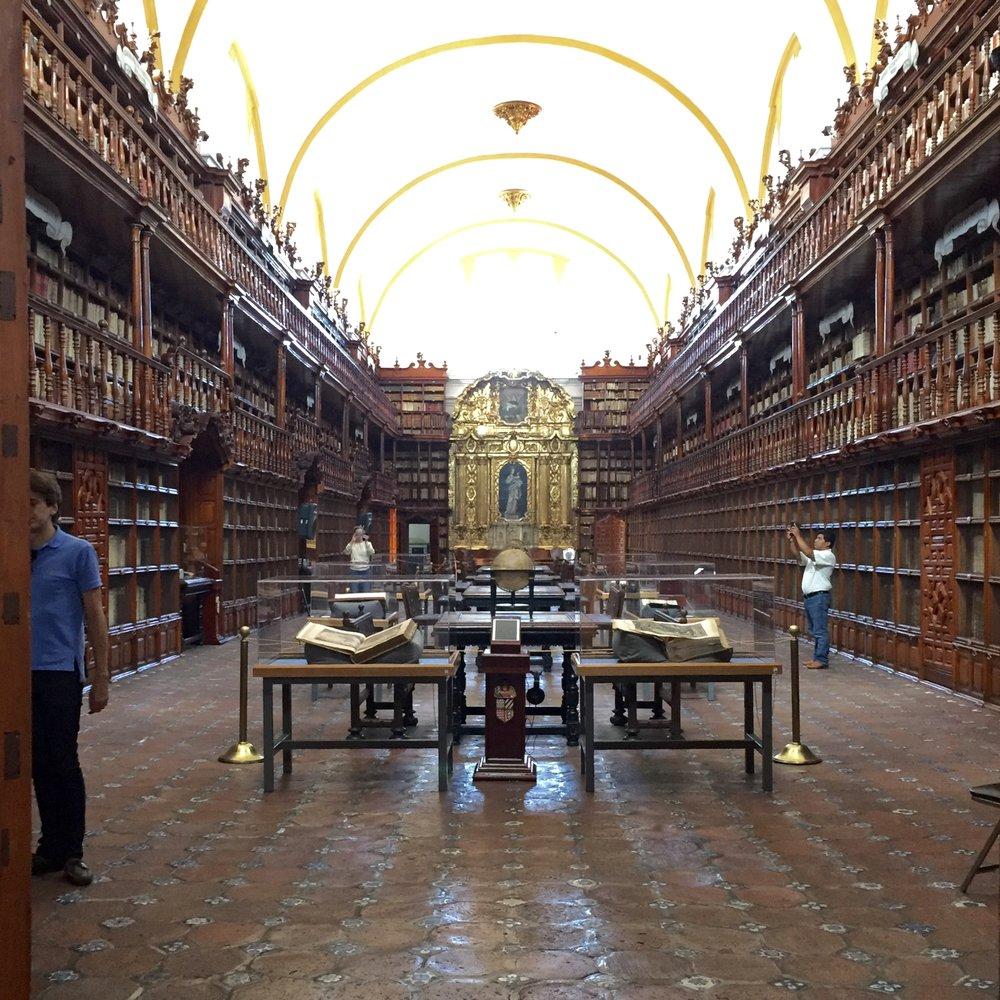 Biblioteca Palafoxiana.