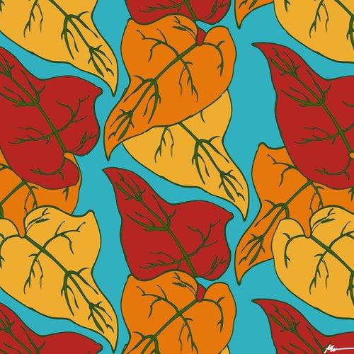 leaf print 2017 kiara walker