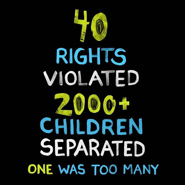 """On Tuesday, the United States withdrew from the UN Human Rights Council, an act the Human Rights Chief called """"not entirely surprising"""". The US is the only UN country to not have ratified the Convention on the Rights of the Child, a document that outlines 40 basic child rights. The practice of separating children from their families as well as detaining them with their families is in violation of most, if not all, of these rights. The executive order enacted yesterday seeks to revert to immigration practices already in place prior to 2014. We need to talk about how and why we got here. We need to stop blaming a single source and rethink how our systems are set up. We need to address the 2000+ children now made victims of trauma. We need to acknowledge those who spoke out against this issue long before any of us were paying attention. We need to build a culture rooted in the principles this country claims to stand for. We need to uphold human rights.  It sounds like a lot of work, but we all have something to give no matter how small we may think that contribution is. Mr. Roger's mother told him, """"Look for the helpers. You will always find people helping."""" Despite what can feel like overwhelming injustice, there is so much good in the world to inspire us forward. #standup4humanrights #uncrc #keepfamiliestogether"""