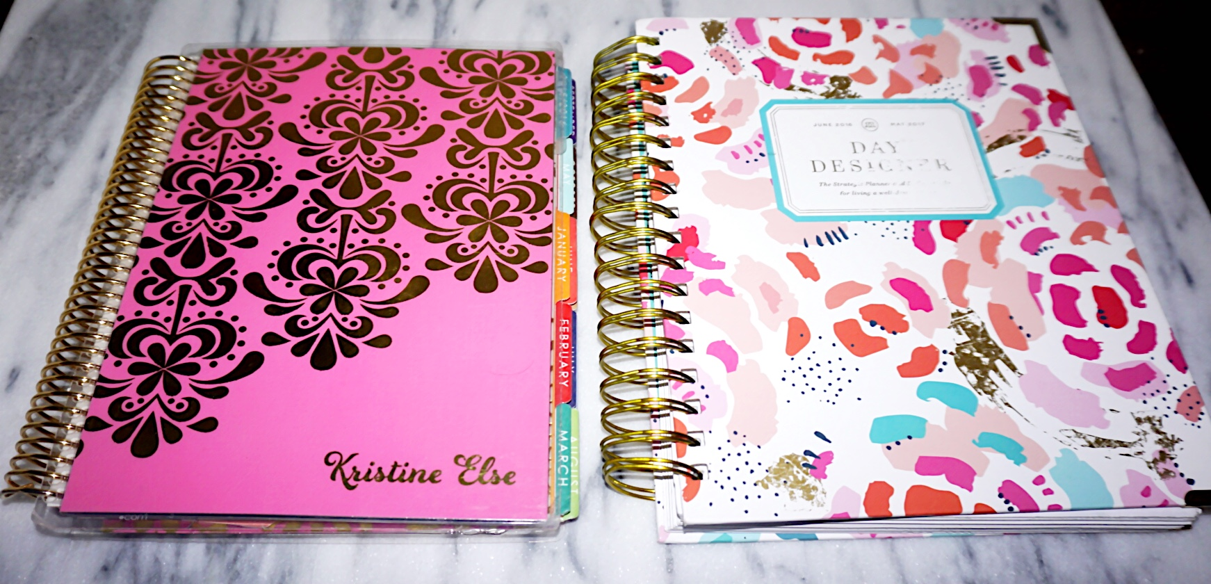 photo regarding Whitney English Planner known as Erin Condren Planner vs. The Working day Designer as a result of Whitney English