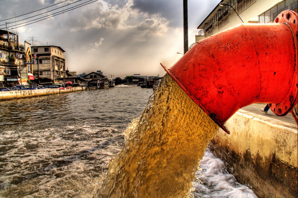 Currently, there is only a small amount of data available on wastewater treatment at the global scale, but some sources estimate that about 80% of all wastewater generated globally is discharged without any treatment (Photo credit: Trey Ratcliff, Creative Commons Attribution)
