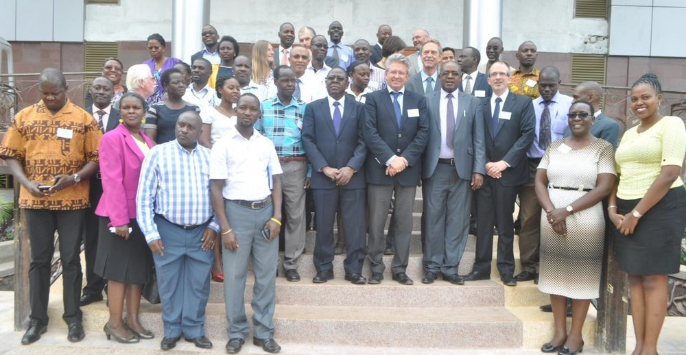 Participants of Uganda's inception workshop in June 2016, which brought together stakeholders from across sectors.