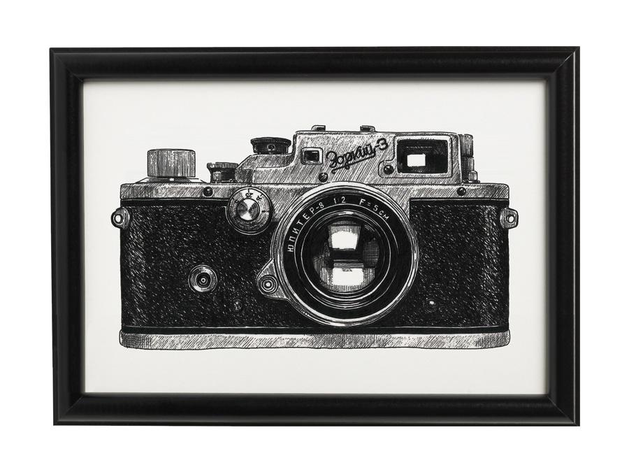 Camera-01-Zorki-3-Framed.jpg
