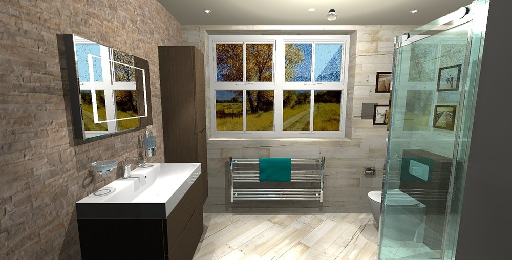 3D Render of completed customer project.