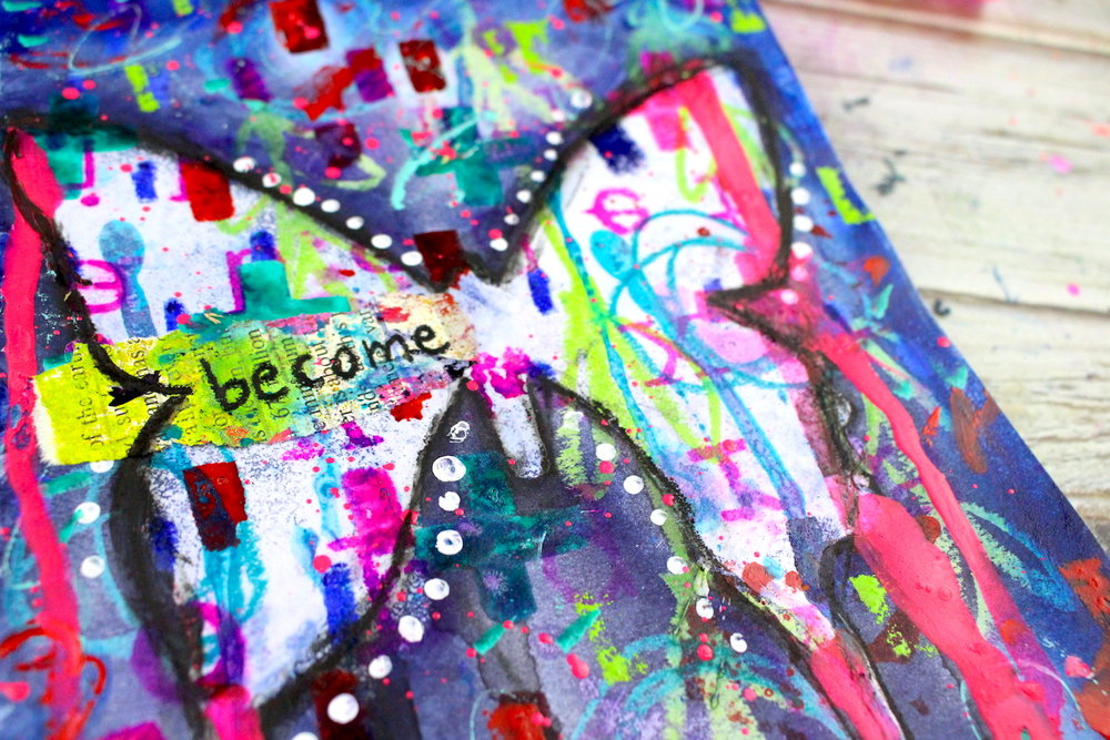 Hello!  It's been a while since I've posted, but I've got some updates on a few projects I've been working on!  I created a step-by-step tutorial on how to make a mixed media journal page spread using Ranger Resist Spray.  You can check it out  HERE  over on the  Life Documented blog !