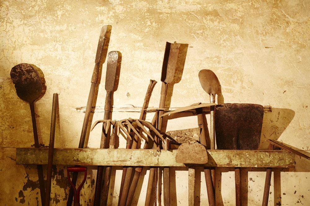 有記名茶炭焙茶工具