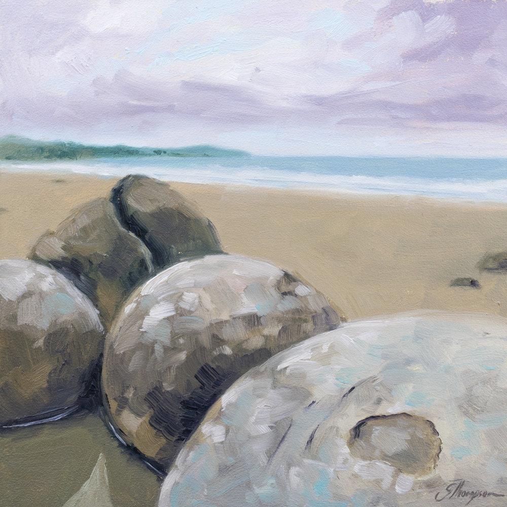 Moeraki Boulders - SOLD