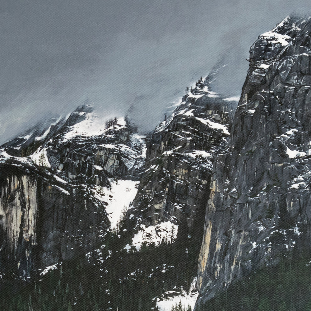 Yosemite - Detail - SOLD