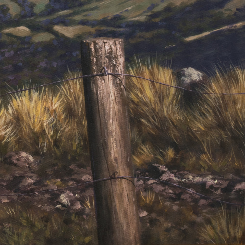 Lyttelton Harbor View - Detail - SOLD