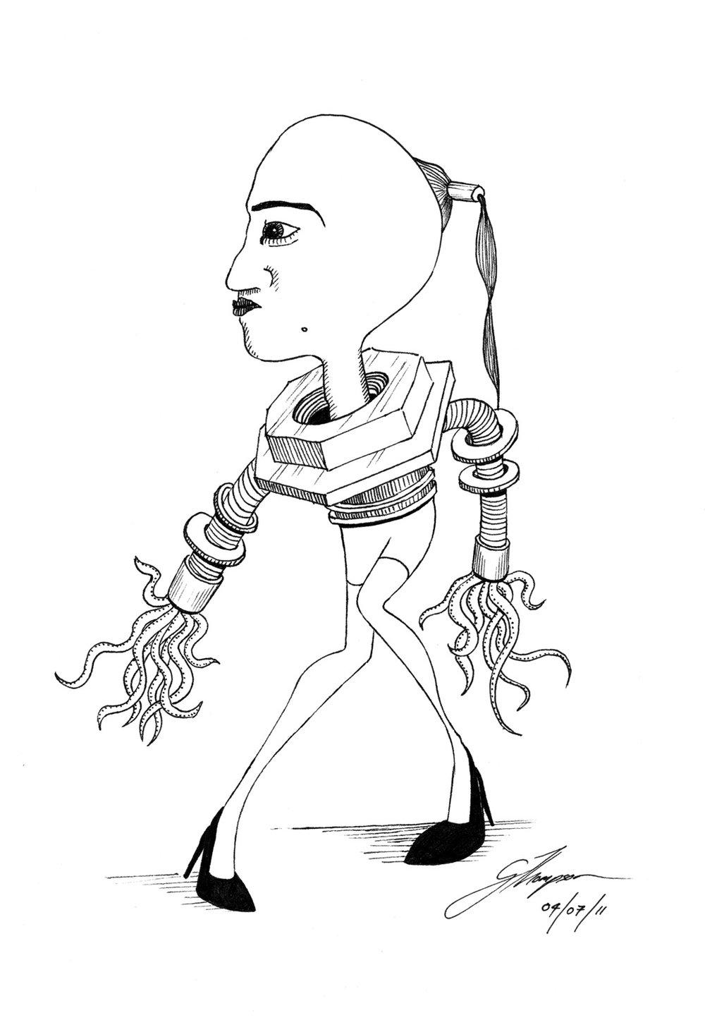 Octo Lady
