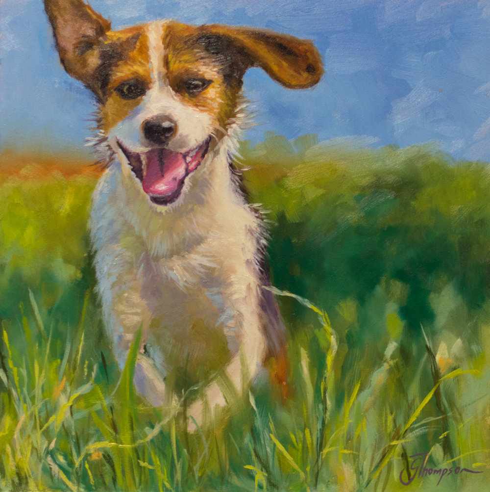 Running Dog - SOLD