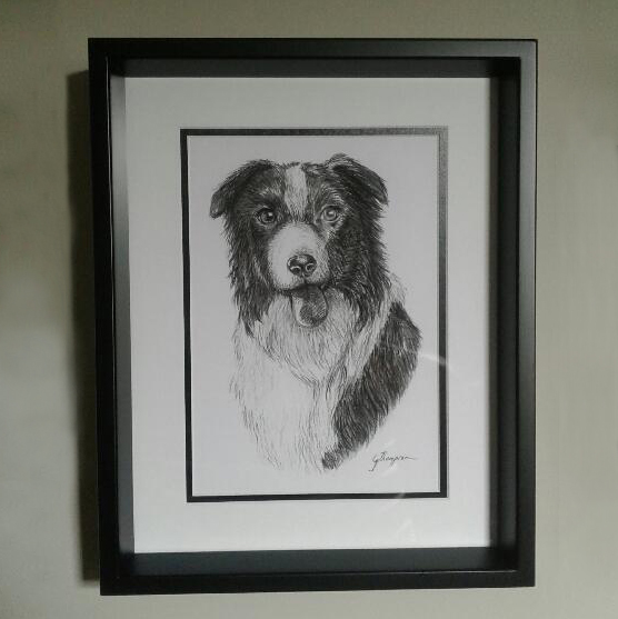'Lochie' - Charcoal on Paper 210mm x 297mm