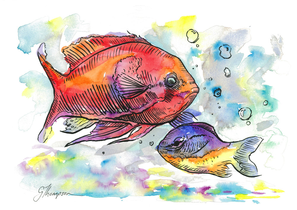 Kelsey's Aquarium 2 - SOLD