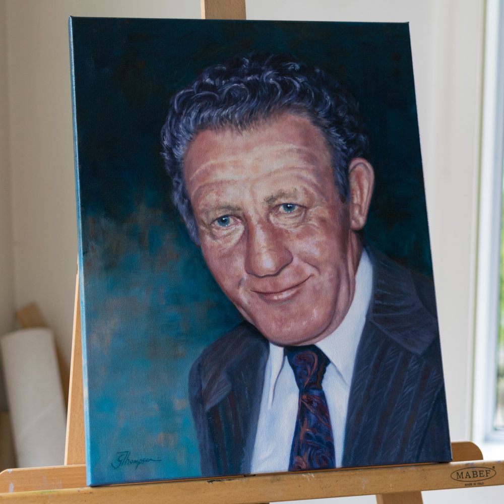 Jack Dobson Oil on canvas 350x450mm