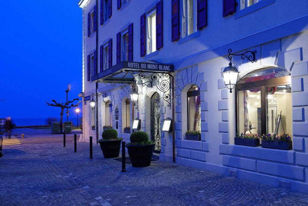 ROMANTIK HOTEL MONT BLANC AU LAC - MORGES - Neuer Internet Auftritt in Responsive Web DesignNouveau site internet en Responsive Web Design