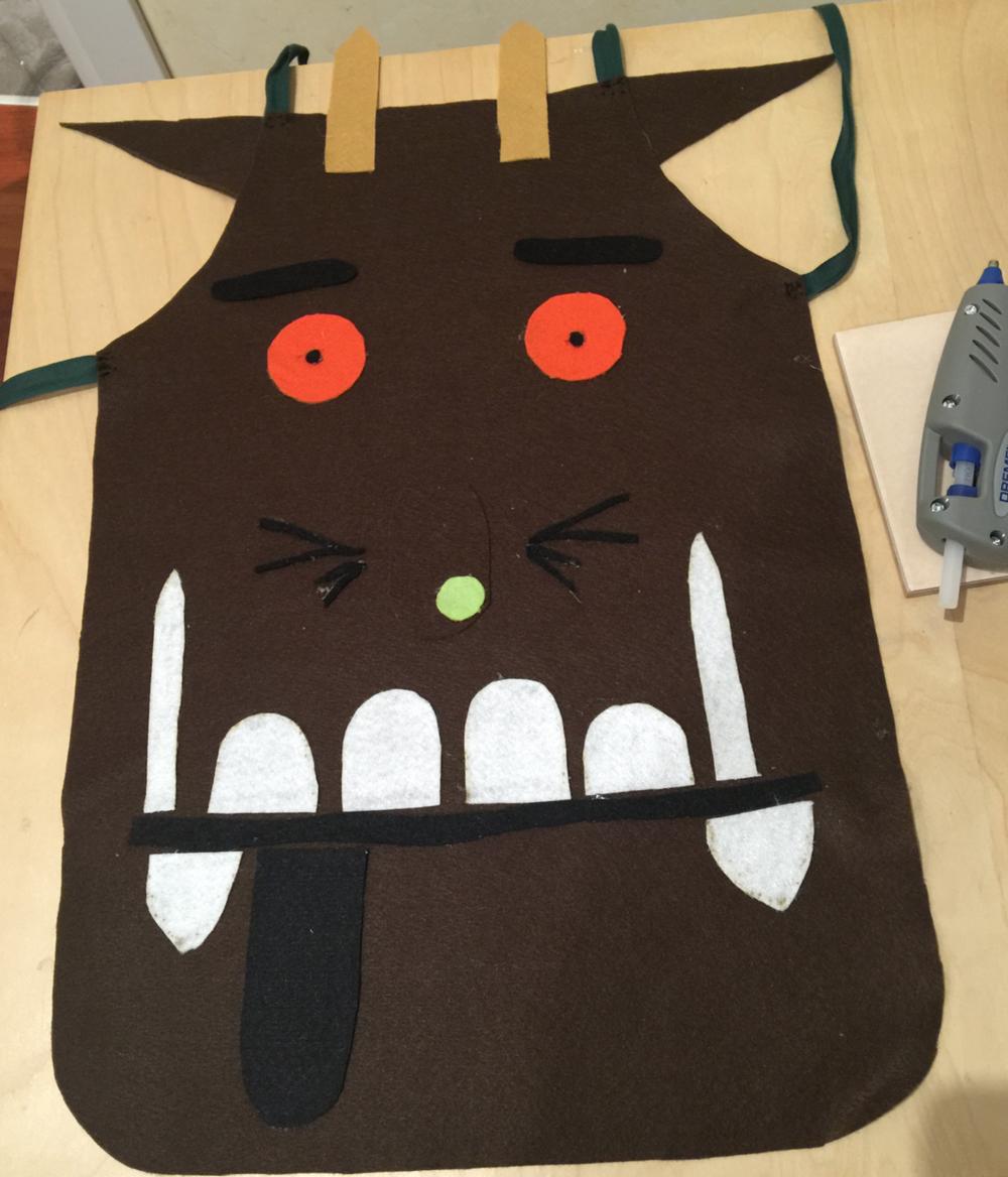 DIY - il costume del Gruffalo