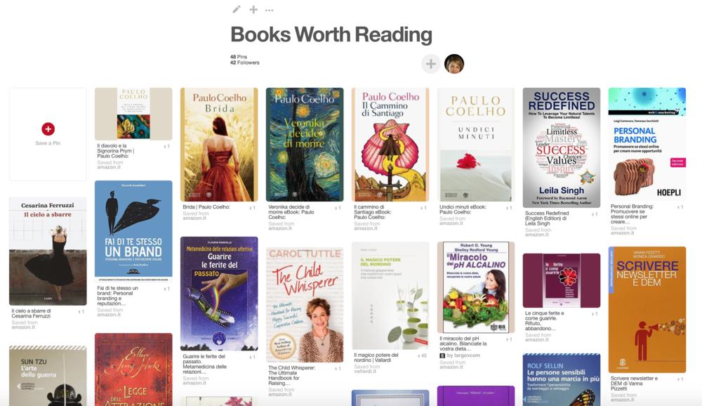 """""""Books worth reading"""" - la mia board su Pinterest"""