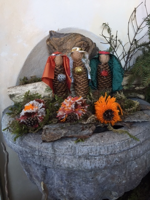 Presepe creativo 16 - i Re Magi
