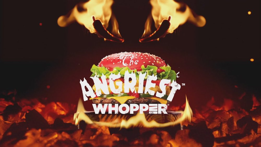 burger king the Angriest whopper