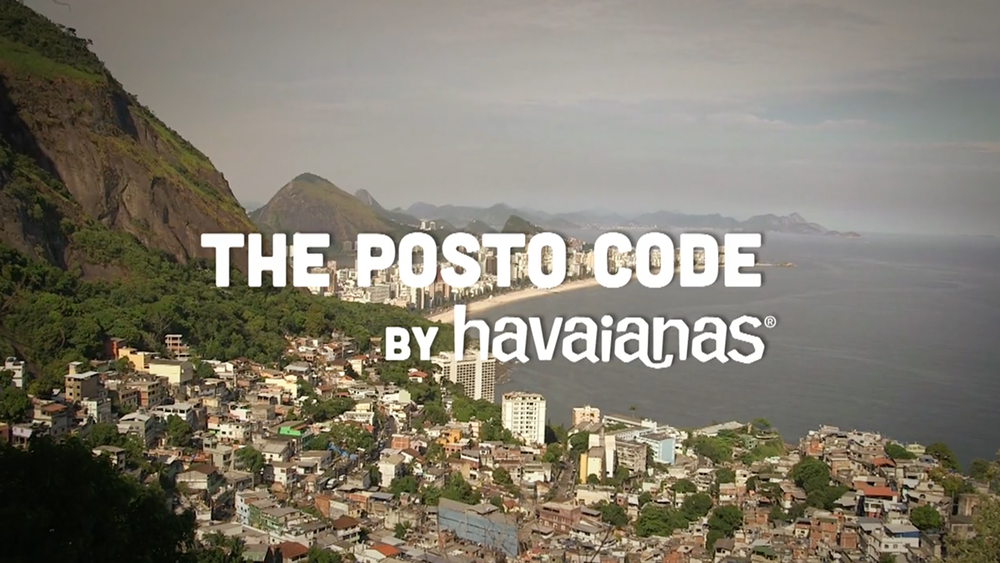 HAVAIANAS  The Posto code
