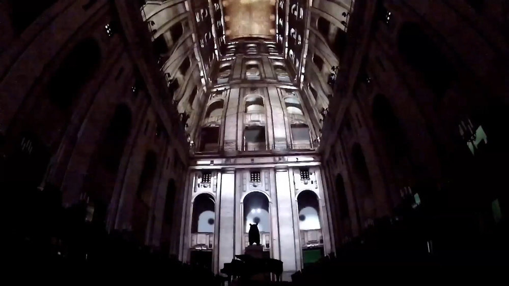 LEO Kuelbs projection mapping with dom perignon