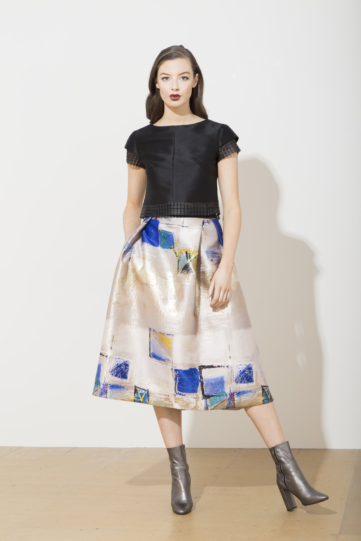 Jolie Top with Sabi Skirt