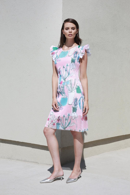 Courtney Dress in Poppy Garden Print €297.00