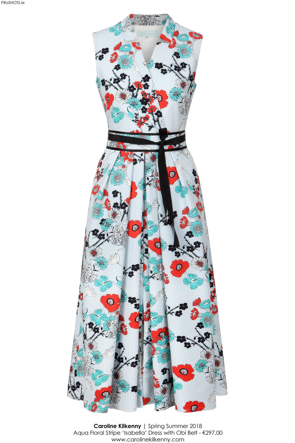 Caroline Kilkenny - Aqua Floral Isabella Dress - High Res.jpg