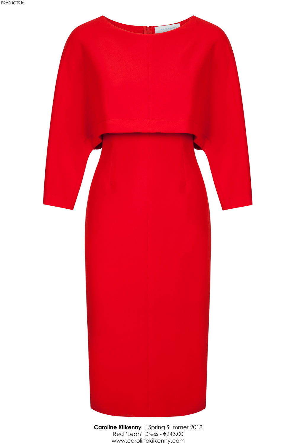 Caroline Kilkenny - Red Leah Dress - High Res.jpg