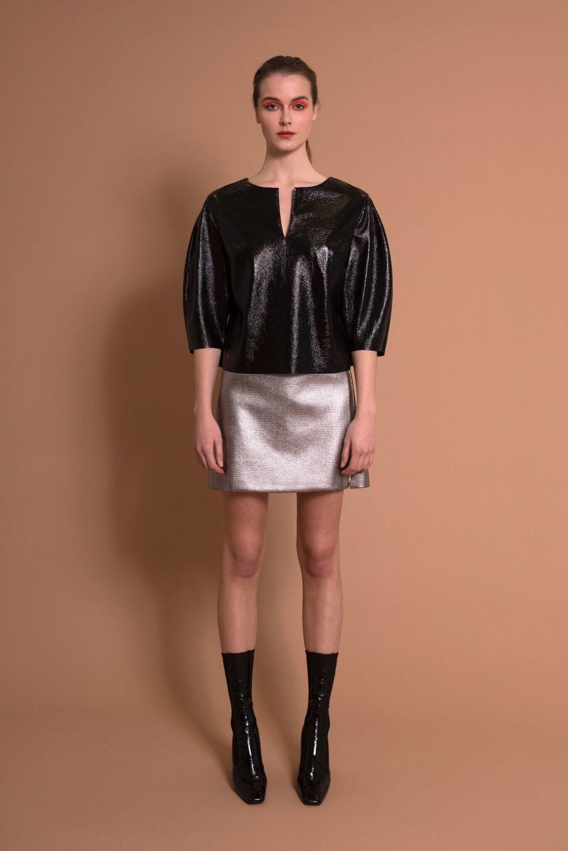 Shell Skirt & Rose Top