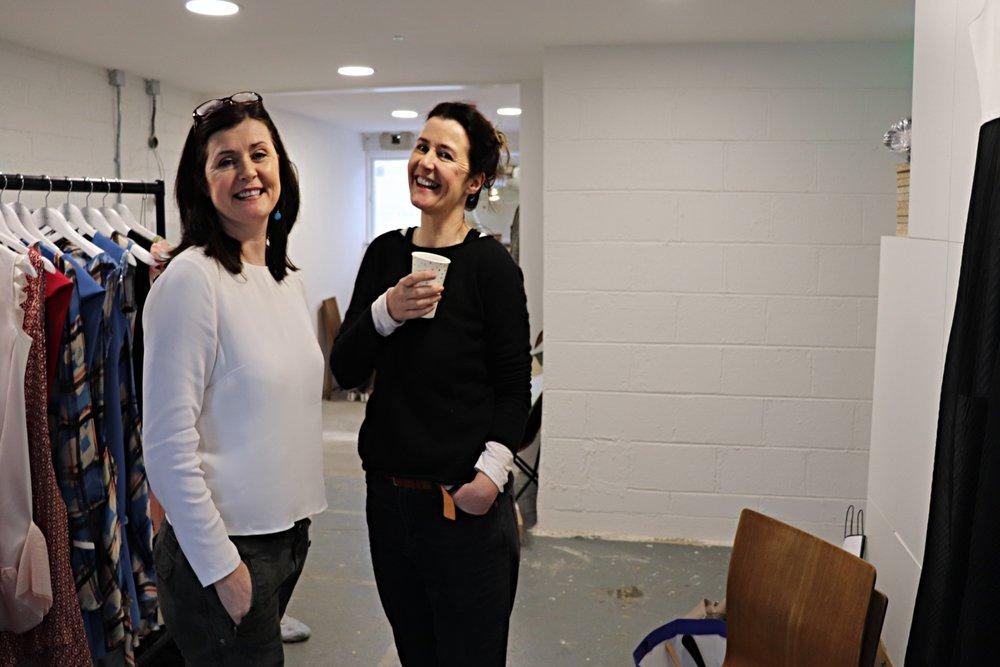 "Nicola & Caroline Behind The Scenes of ""Sisters"" SS19   January 2019"