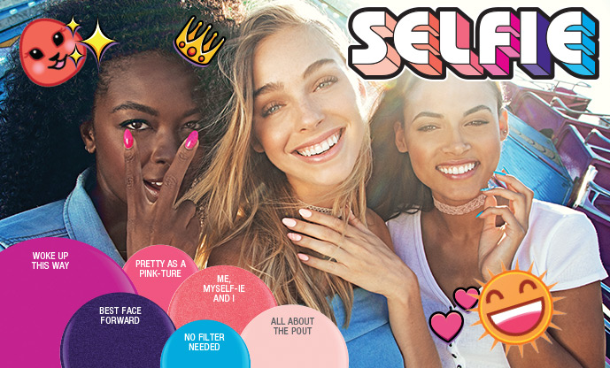 Sharing summer moments just got more fun and vibrant. Gelish and Morgan Taylor introduce the Selfie Summer 2017 collection. This collection is filled with neon corals, pinks and purples to help you nail that manicure and the ultimate shot!
