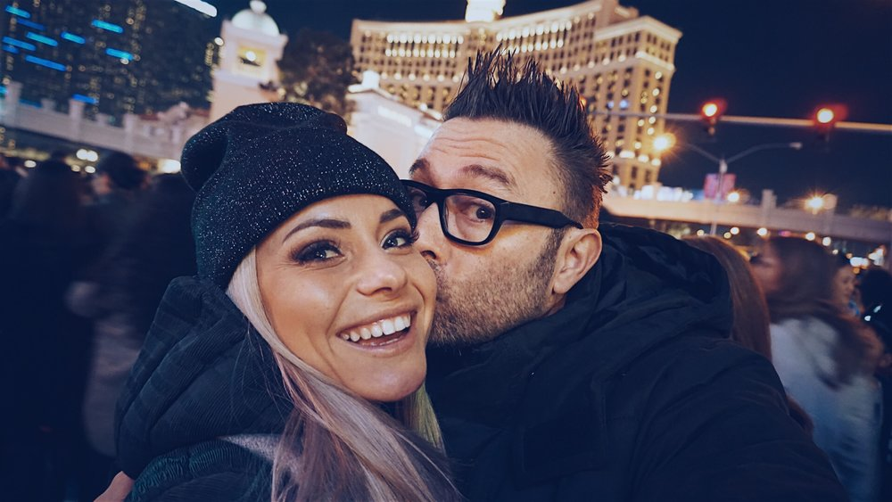 Marissa Galle, Blogger, Vlogger, Vegas, Las Vegas Strip, New Year's Eve, Fireworks