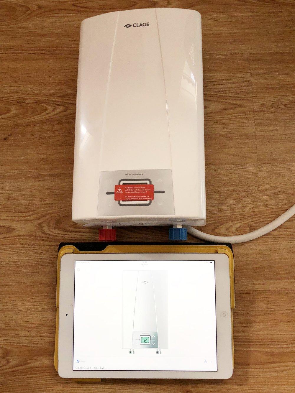 Warwater doorstromer