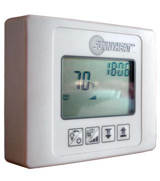 iSTC draadloze bediening infrarood panelen