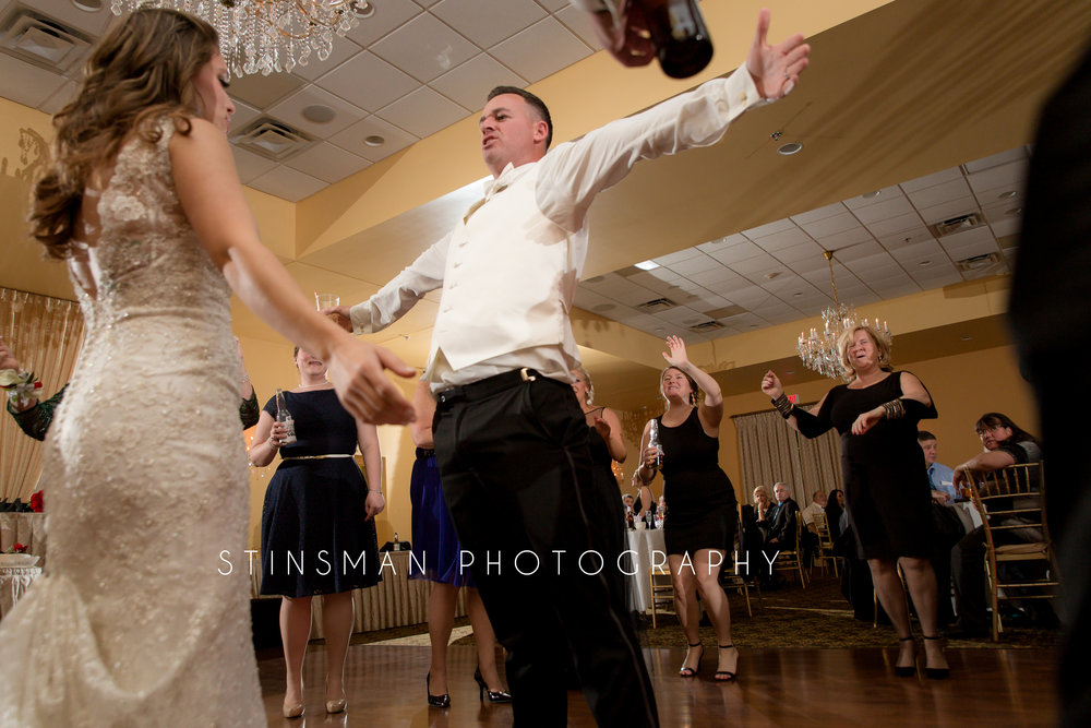 groom loves to dance