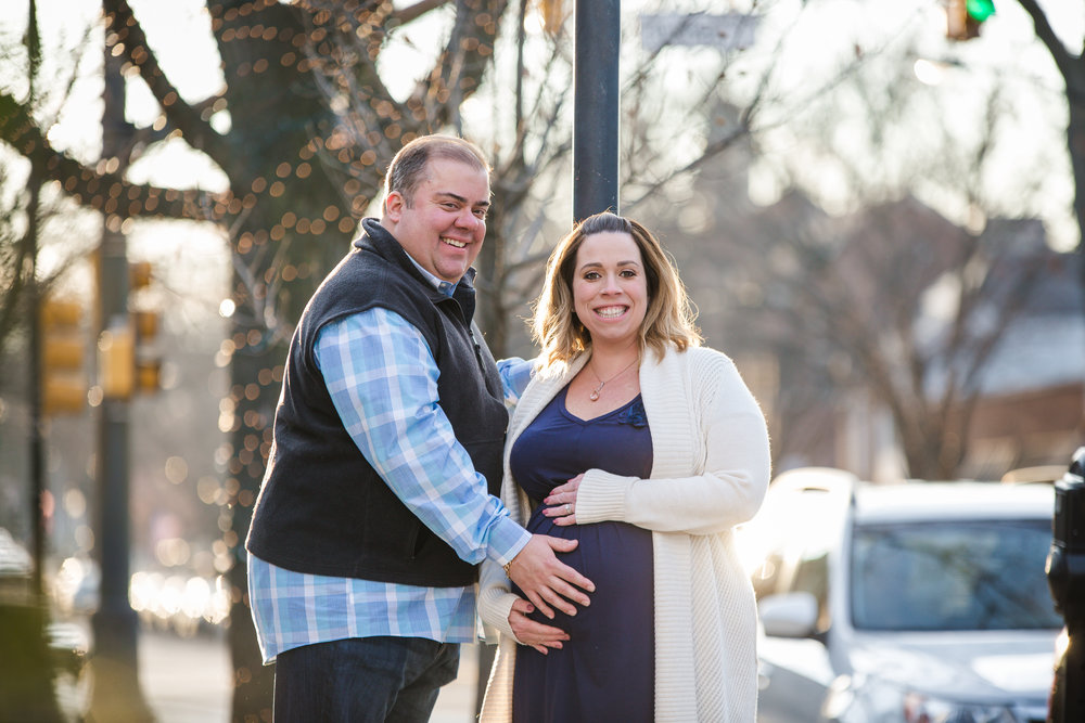 maternity photos in haddonfield new jersey