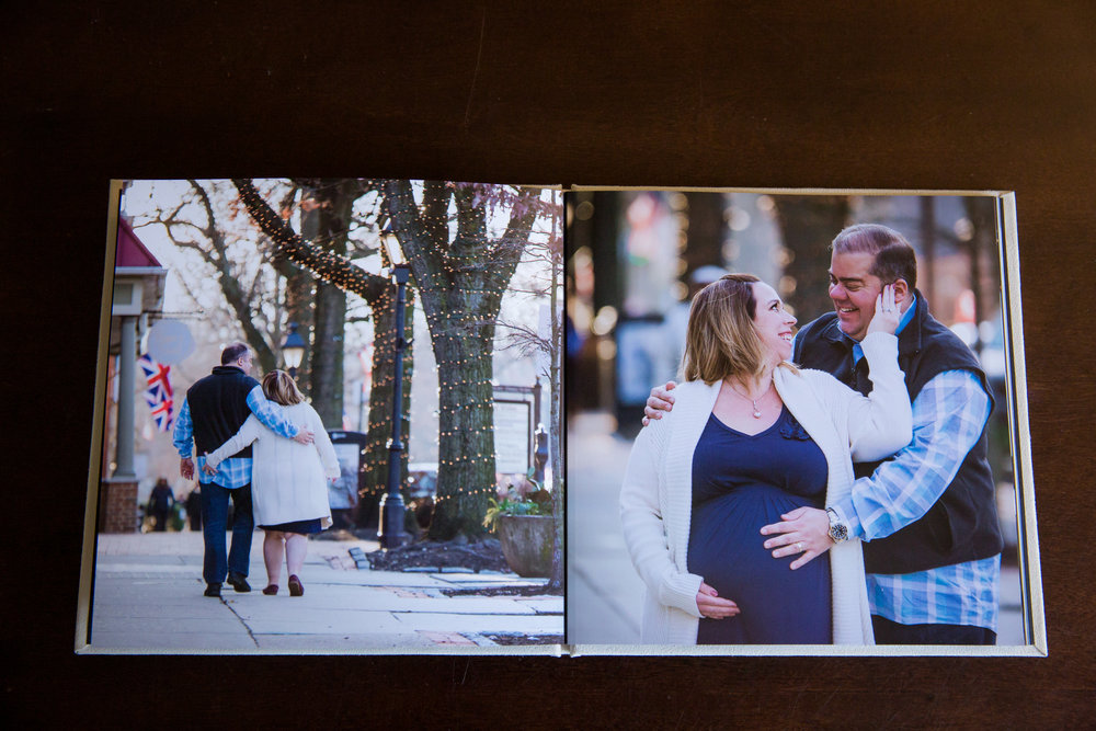 pregnancy photo album new jersey maternity photographer