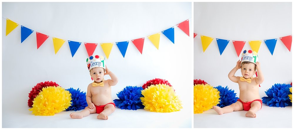 george's first birthday photo shoot in burlington new jersey