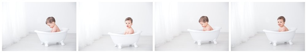 tub time photos in burlington new jersey for first birthday photos