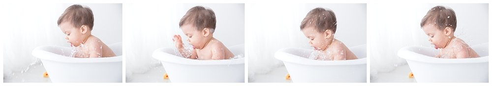 biug splashes for first birthday photo shoot in burlington new jersey