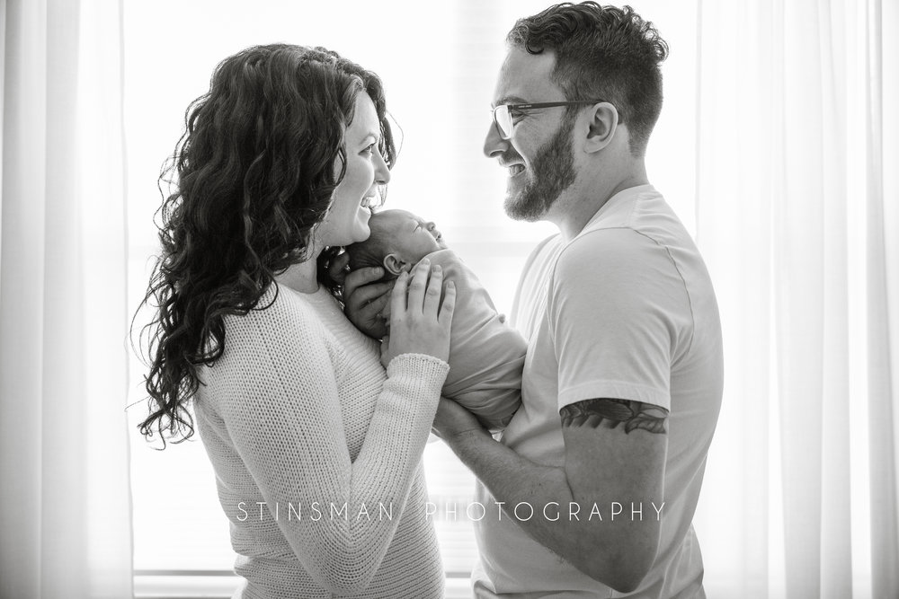 in home newborn photos in burlington and robbinsville new jersey