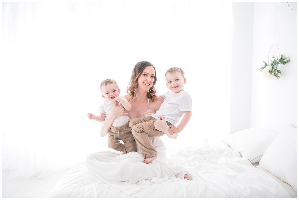 perfect end to mommy and me sessions in burlington moorestown  new jersey studio