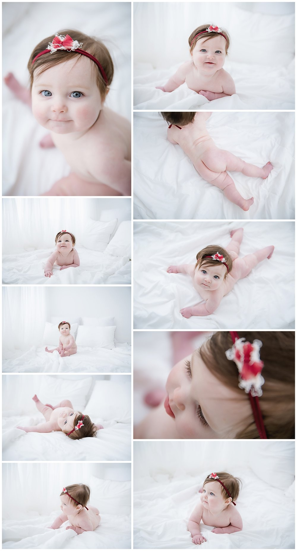 Baby session in burlington new jersey photo studio