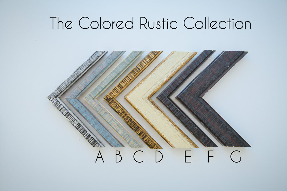The Rustic wood collection that Is for the family that loves color and funk